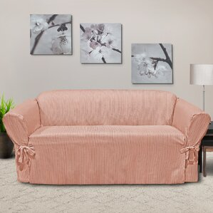 Muskoka Box Cushion Sofa Slipcover by CoverW..