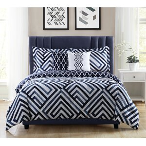 Swing 5 Piece Reversible Comforter Set