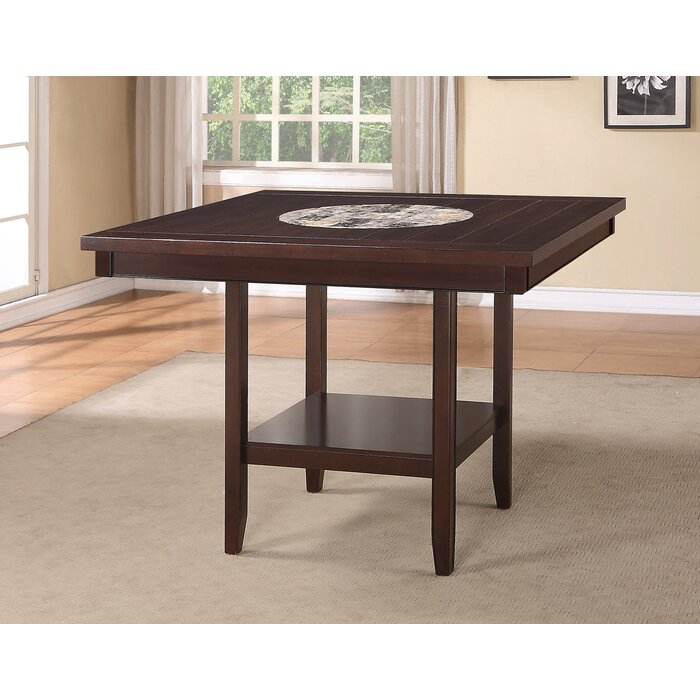 30ff276bbd Wayfair   Crown Mark Fulton Counter Height Dining Table