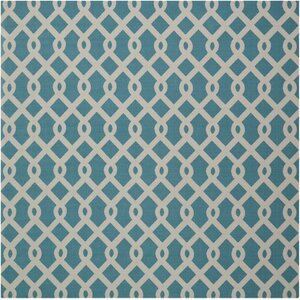 Sun N' Shade Blue/Ivory Indoor/Outdoor Area Rug