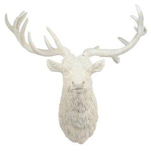Deer Head Wall Decor white deer head wall decor | wayfair