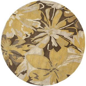 Millwood Gold/Chocolate Floral...