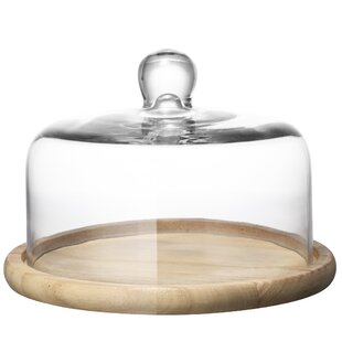 Wood Cake Plates Stands Youll Love Wayfaircouk