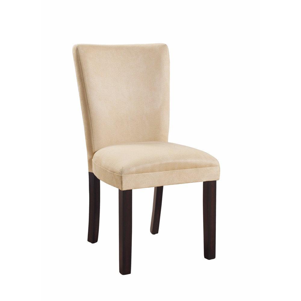 de766645c4fc0 Winston Porter Hoekstra Modish Side Genuine Leather Upholstered Dining Chair
