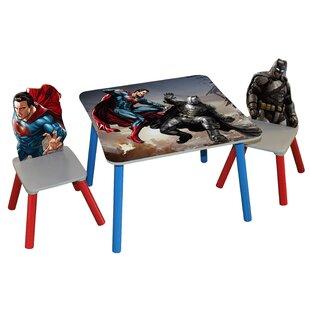 Batman v Superman Dawn of Justice Kids\u0027 3 Piece Rectangle Table and Chair Set  sc 1 st  Wayfair & Arts \u0026 Crafts Kids\u0027 Table \u0026 Chair Sets You\u0027ll Love   Wayfair