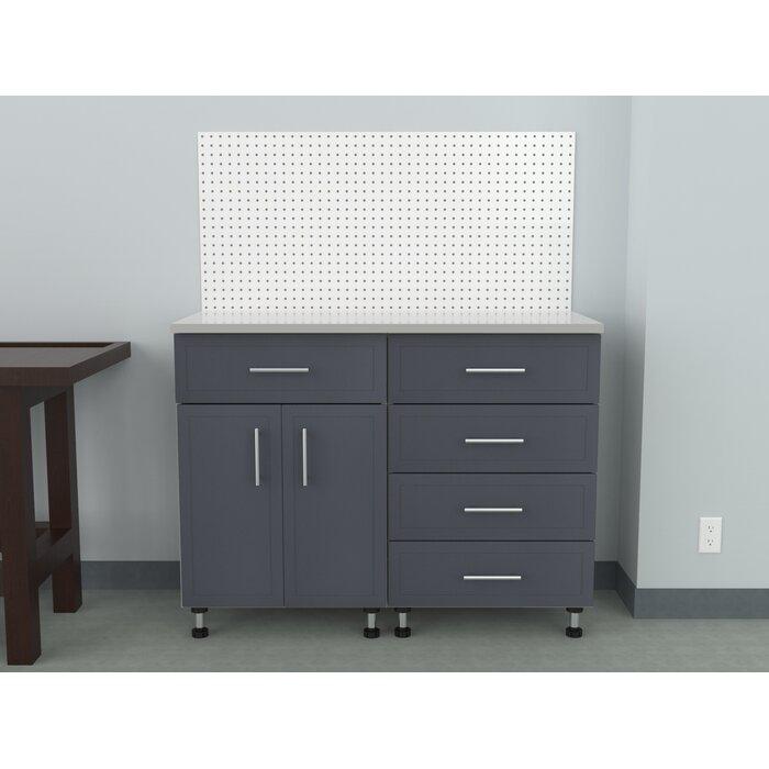 Edith 4 Piece Storage Cabinet Set