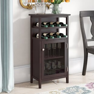 Stapp 8 Bottle Floor Wine Cabinet