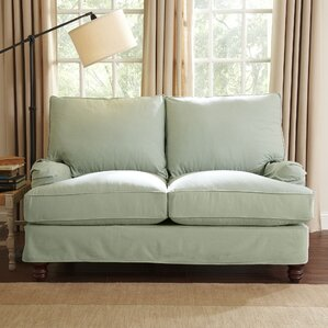 Montgomery Slipcovered Loveseat by Birch Lane?