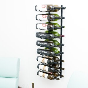 Wall Series 18 Bottle Wall Mounted Wine Rack by VintageView