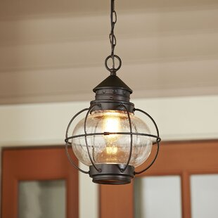 Outdoor hanging porch light wayfair hastings outdoor hanging lantern mozeypictures Image collections
