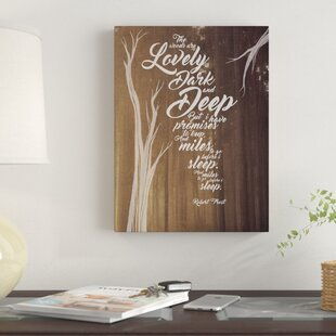 bdf101a26cc7 Inspirational Quotes & Sayings Wall Art You'll Love in 2019 | Wayfair
