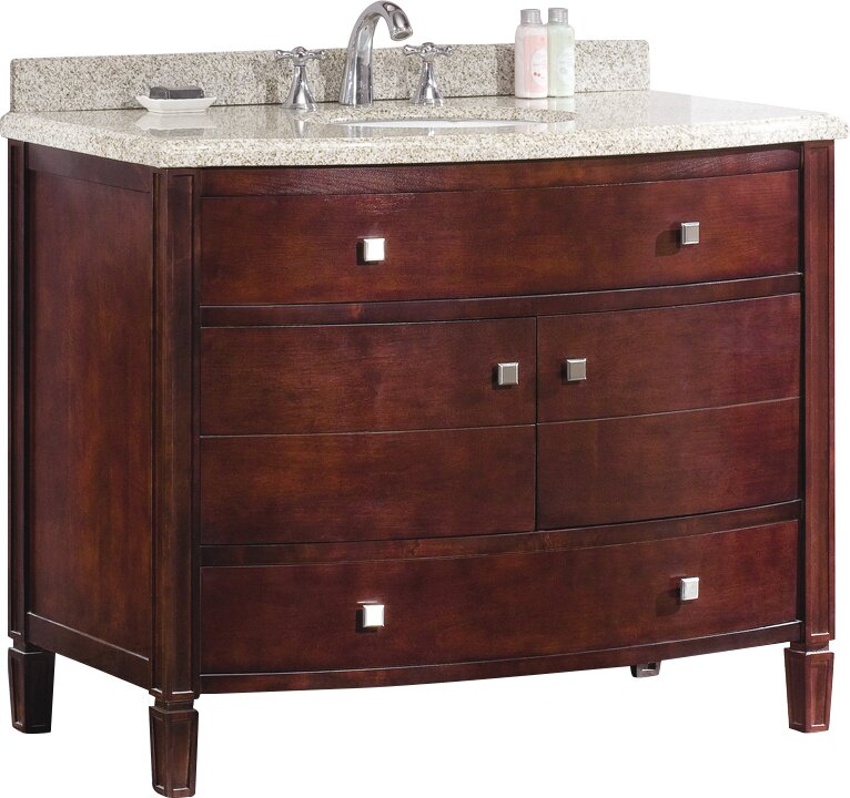 Ove Decors Georgia 42 Single Bathroom Vanity Set