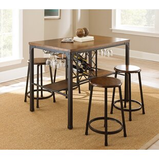 Woodside 5 Piece Pub Table Set Coupon