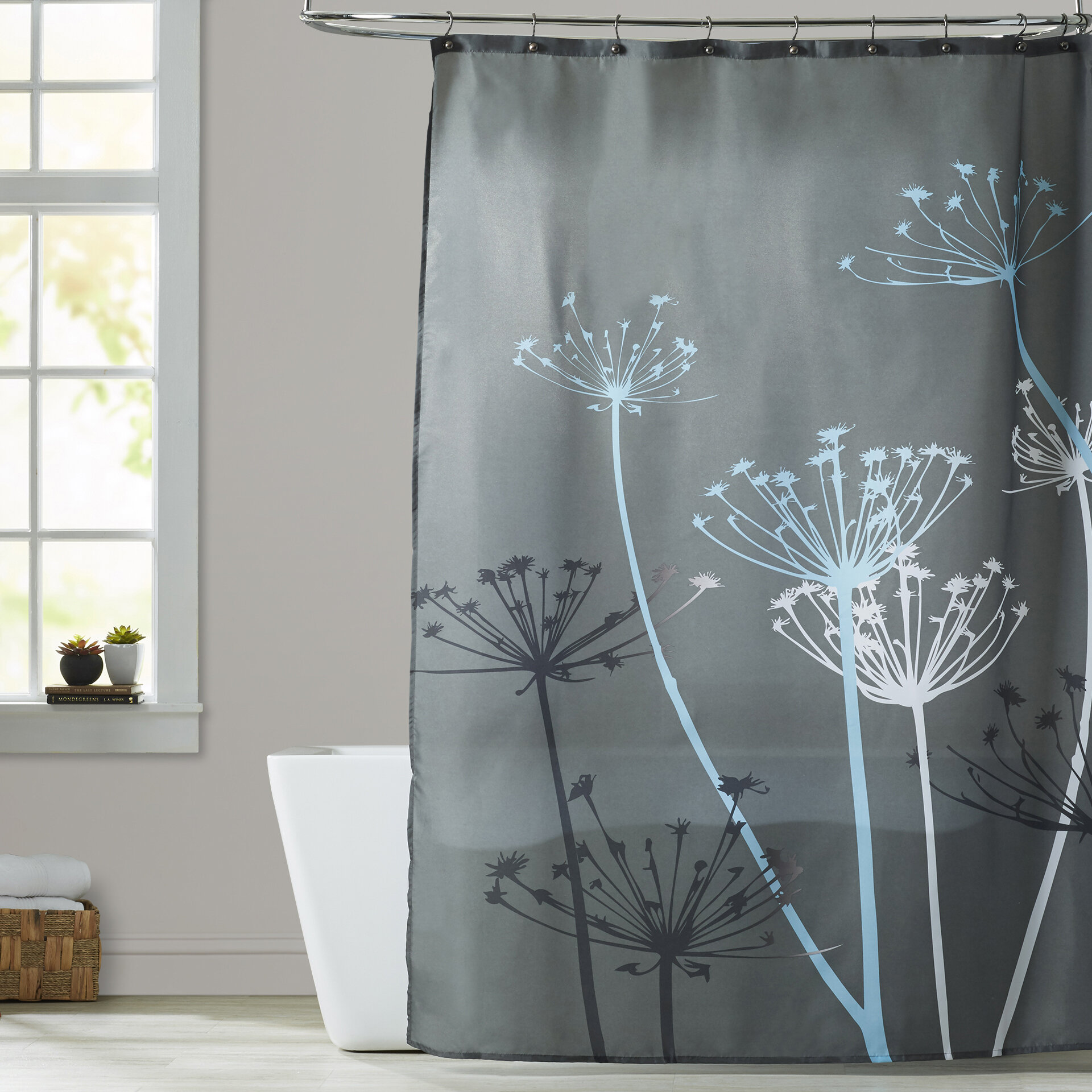 Ebern Designs Nardone Shower Curtain & Reviews | Wayfair