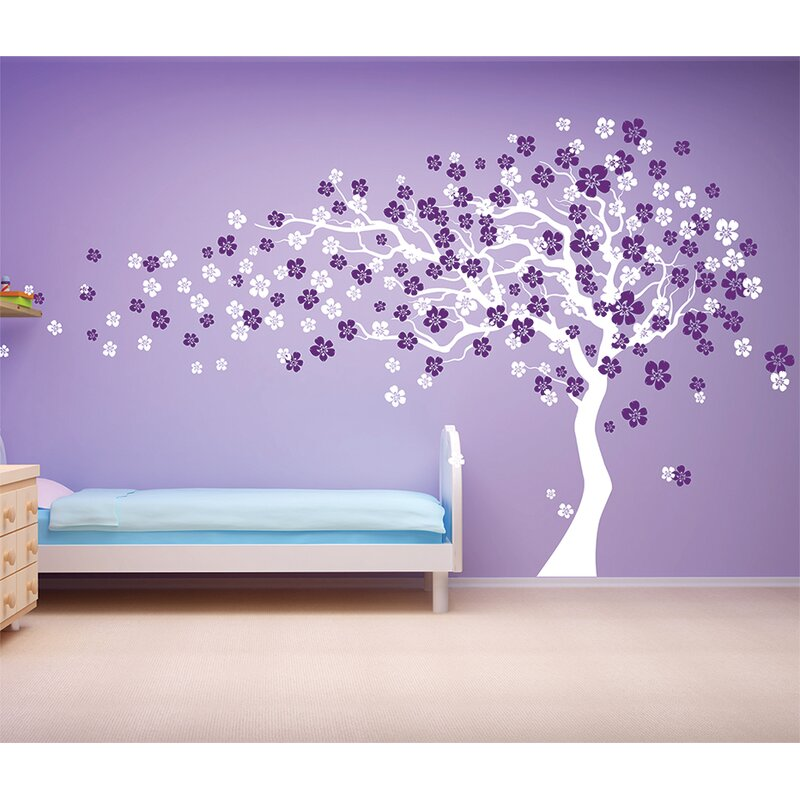 Cherry Blossom Tree Wall Decal  sc 1 st  Wayfair & Pop Decors Cherry Blossom Tree Wall Decal u0026 Reviews | Wayfair