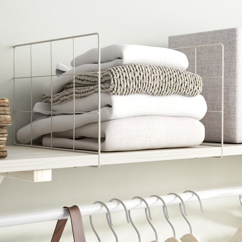 Closet Shelves & Shelf Dividers You\'ll Love | Wayfair