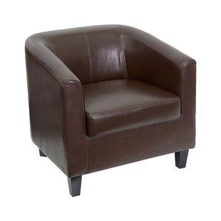 Tan Leather Armchair | Wayfair
