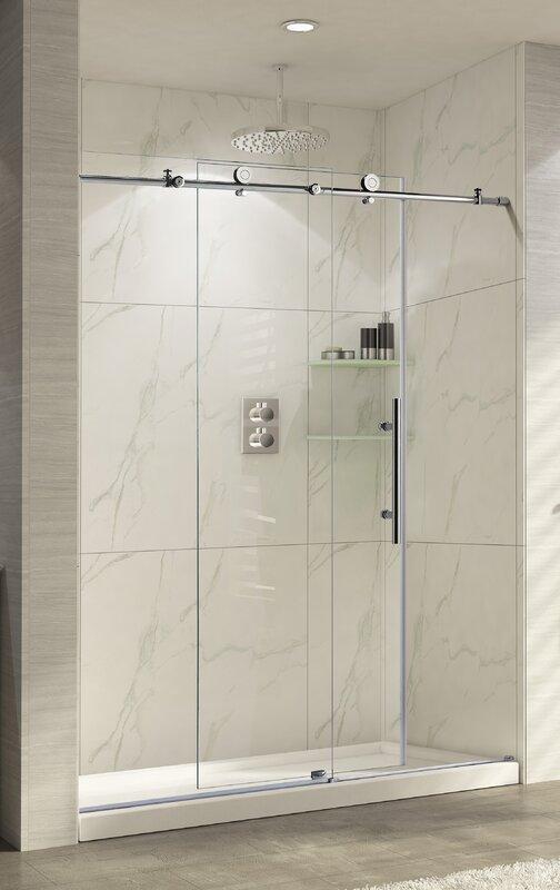 Wet Republic Trident Lux 60 X 76 Single Sliding Shower