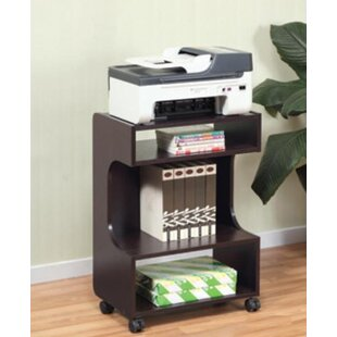 Mobile Printer Stand With Storage
