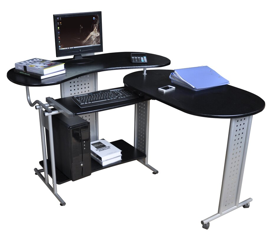 charles jacobs computertisch mit tastaturauszug bewertungen. Black Bedroom Furniture Sets. Home Design Ideas