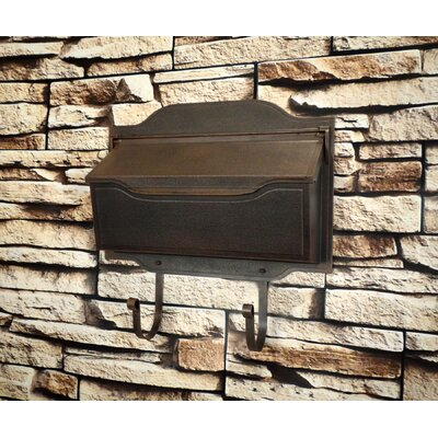 Sol 72 Outdoor Ballera Wall Mounted Mailbox Finish: Copper