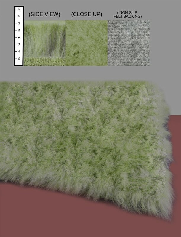 Ixi Eros Faux Fur Celery Green Area Rug Amp Reviews Wayfair