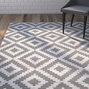 Harlow Hand-Woven Gray/Ivory Area Rug