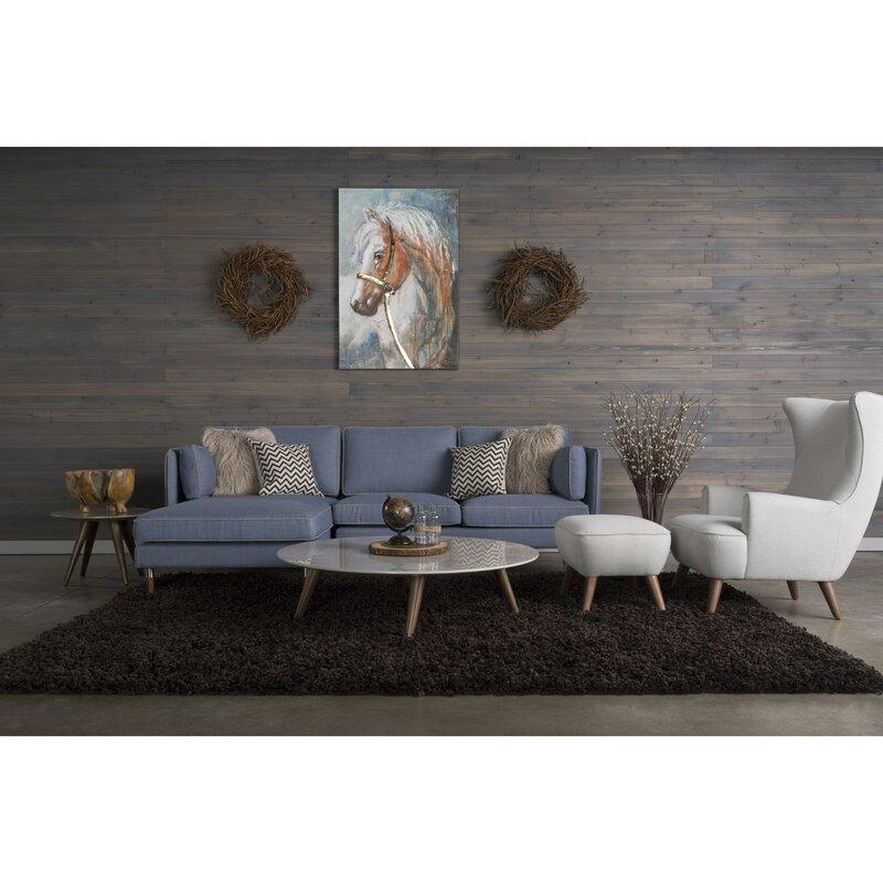 Corrigan Studio Shelburne 5 Piece Living Room Set & Reviews | Wayfair
