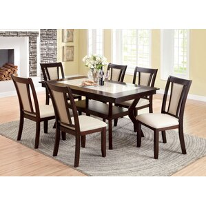 Beauregard 7 Piece Dining Set by Darby Home Co