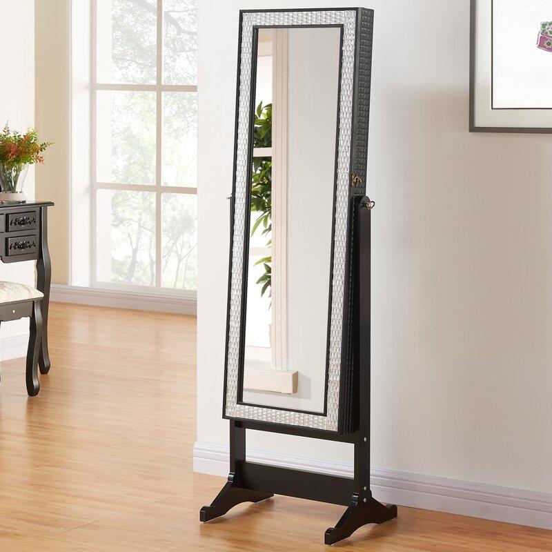 prestington schmuckschrank anna mit spiegel. Black Bedroom Furniture Sets. Home Design Ideas