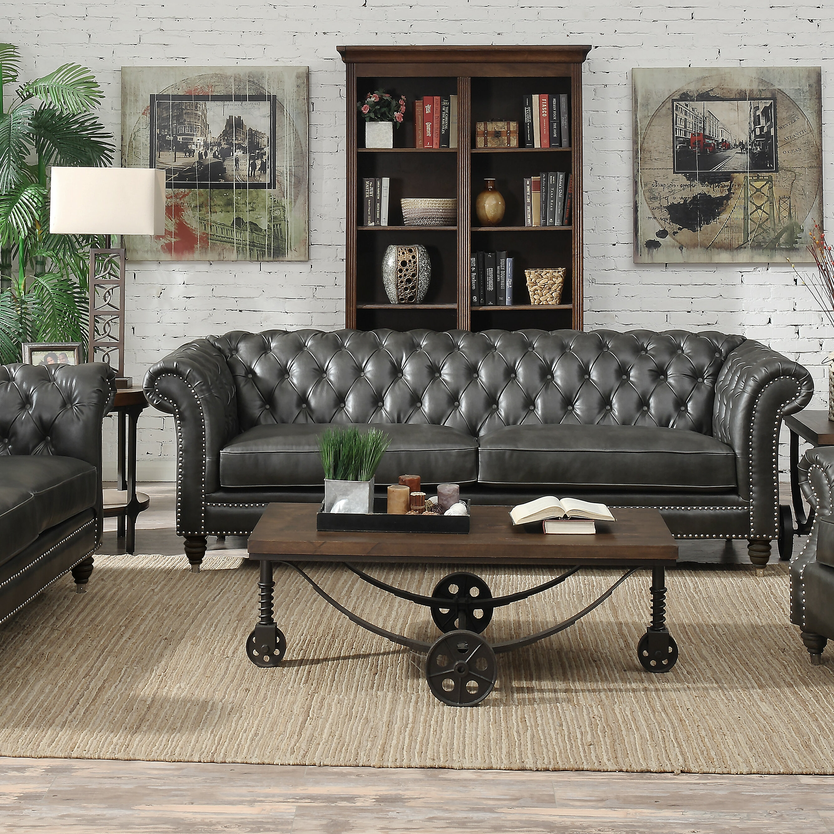 Trent Austin Design Alsager Chesterfield Sofa Reviews Wayfair Ca