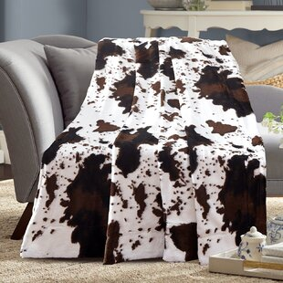 Cow Print Blanket Wayfair Ca