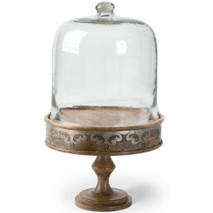 Marble Cake Stand With Dome Wayfair