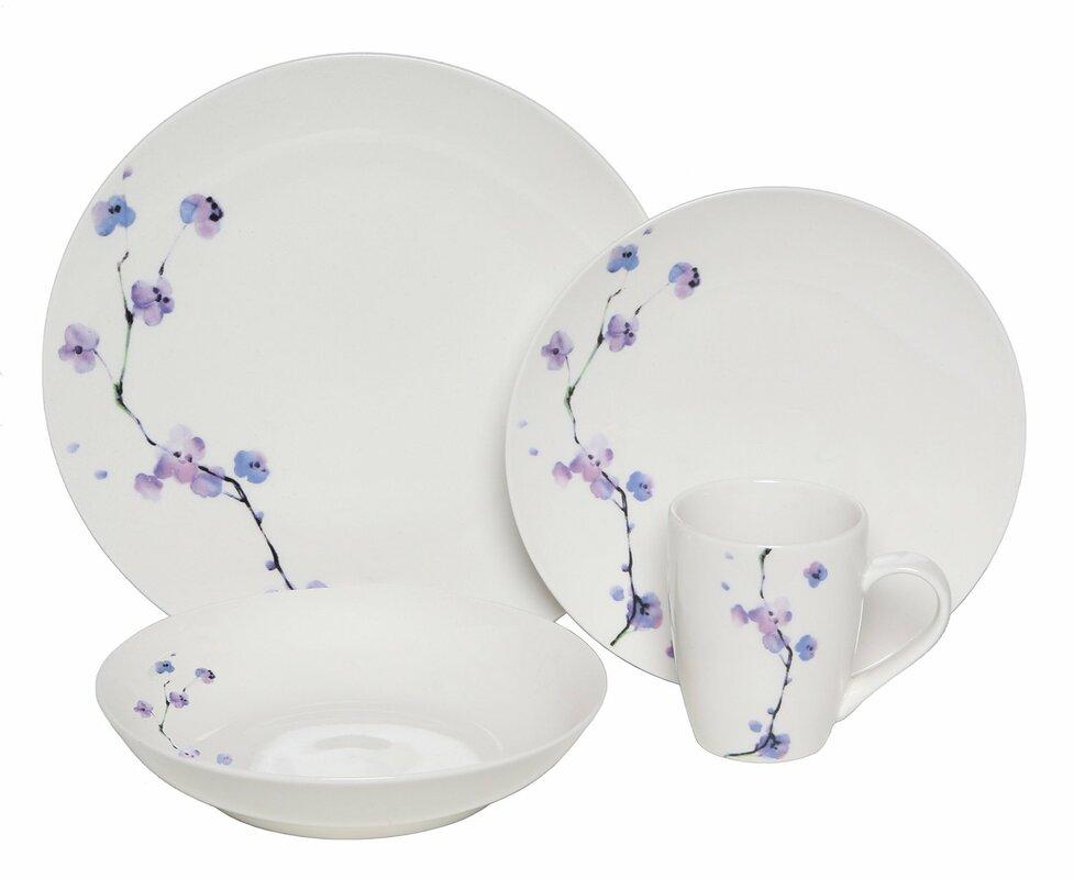 Melange Premium Zen 32 Piece Dinnerware Set Service For 8  sc 1 st  Castrophotos & Service For 8 Dinnerware Sets - Castrophotos