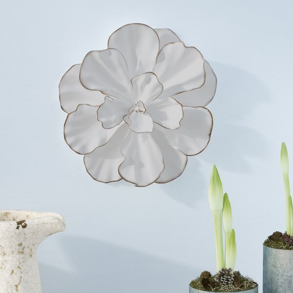 Gold Flower Wall Decor | Wayfair