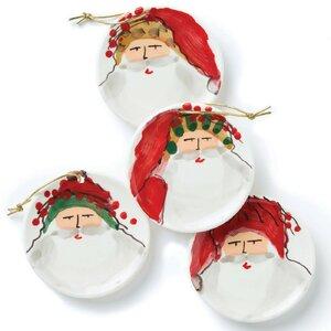 Nick 4 Piece Ornament Set