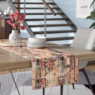 Susan Sanders Rustic Bricks Table Runner