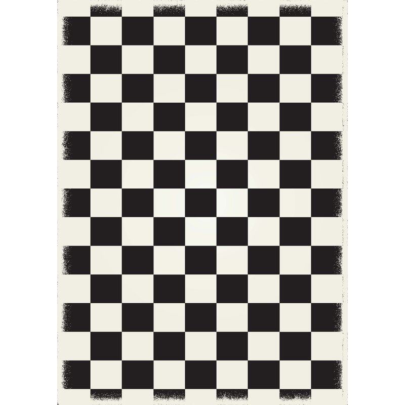 Delicieux Winston Porter Biton English Checker Black/White Indoor/Outdoor Area Rug U0026  Reviews | Wayfair