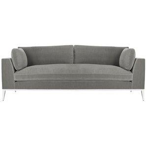 Trafford Velvet Sofa by Wade Logan