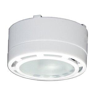 Puck under cabinet lighting youll love under cabinet puck light set of 6 aloadofball Images