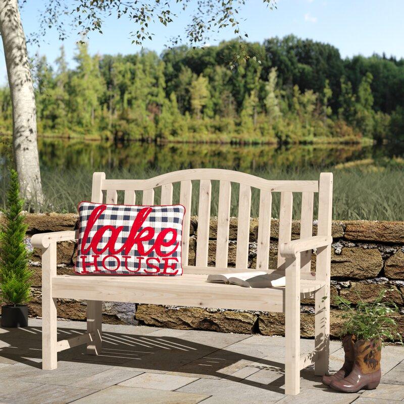 Embry Wood Garden Bench