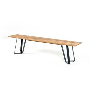 Roslyn Drift Wooden Bench by Trent Austin Design