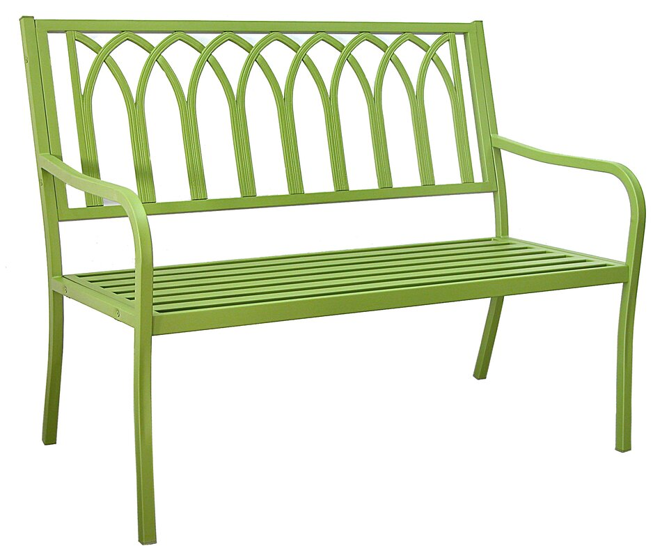 benches wood steel love bench you outdoor garden save blankenship wayfair ll