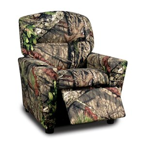 Kids Cotton Recliner with Cup Holder by Mossy Oak