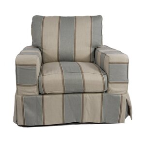 Glenhill Box Cushion Armchair Slipcover by Rosecliff Heights