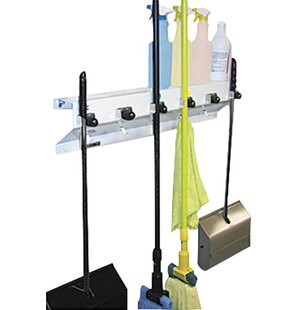 The Clincher Mop And Broom Holder