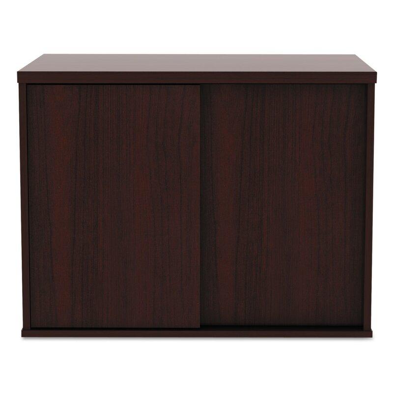 Beautiful Tiernan Open Office Low Storage Cabinet Credenza Desk