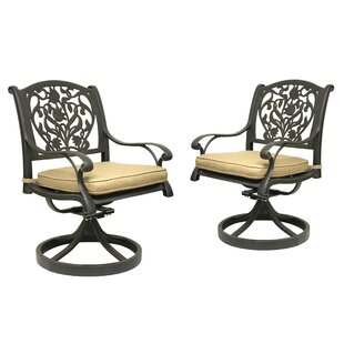 Camptown Rocking Chair With Cushion (Set Of 2). By Fleur De Lis Living