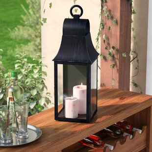 Outdoor Wall Mount Glass And Metal Lantern