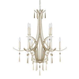 Berkeley 10-Light Candle-Style Chandelier